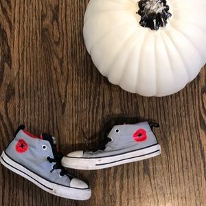 Converse high tops, size 9